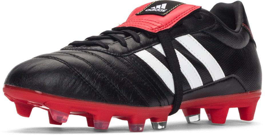 e5cbed25b10a ... the traditional boot lover. The adidas Gloro is built up around a lush  K-leather upper and as you have undoubtedly noticed, they brought back  tongue.