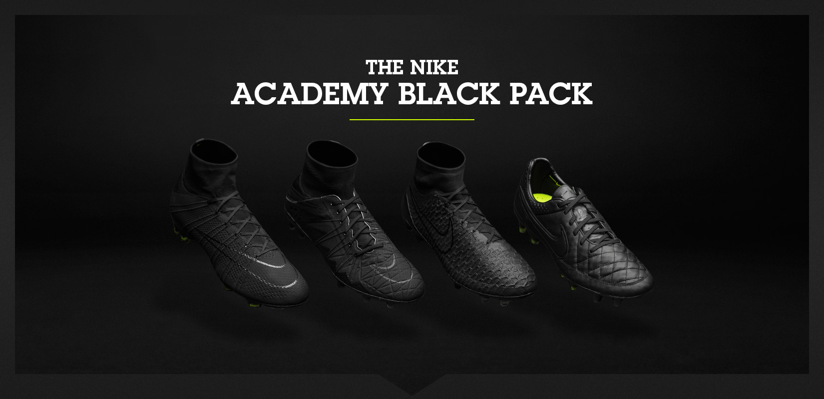 The Nike Academy Pack is back! Young players have to earn their ... 759b29dbfc3a4