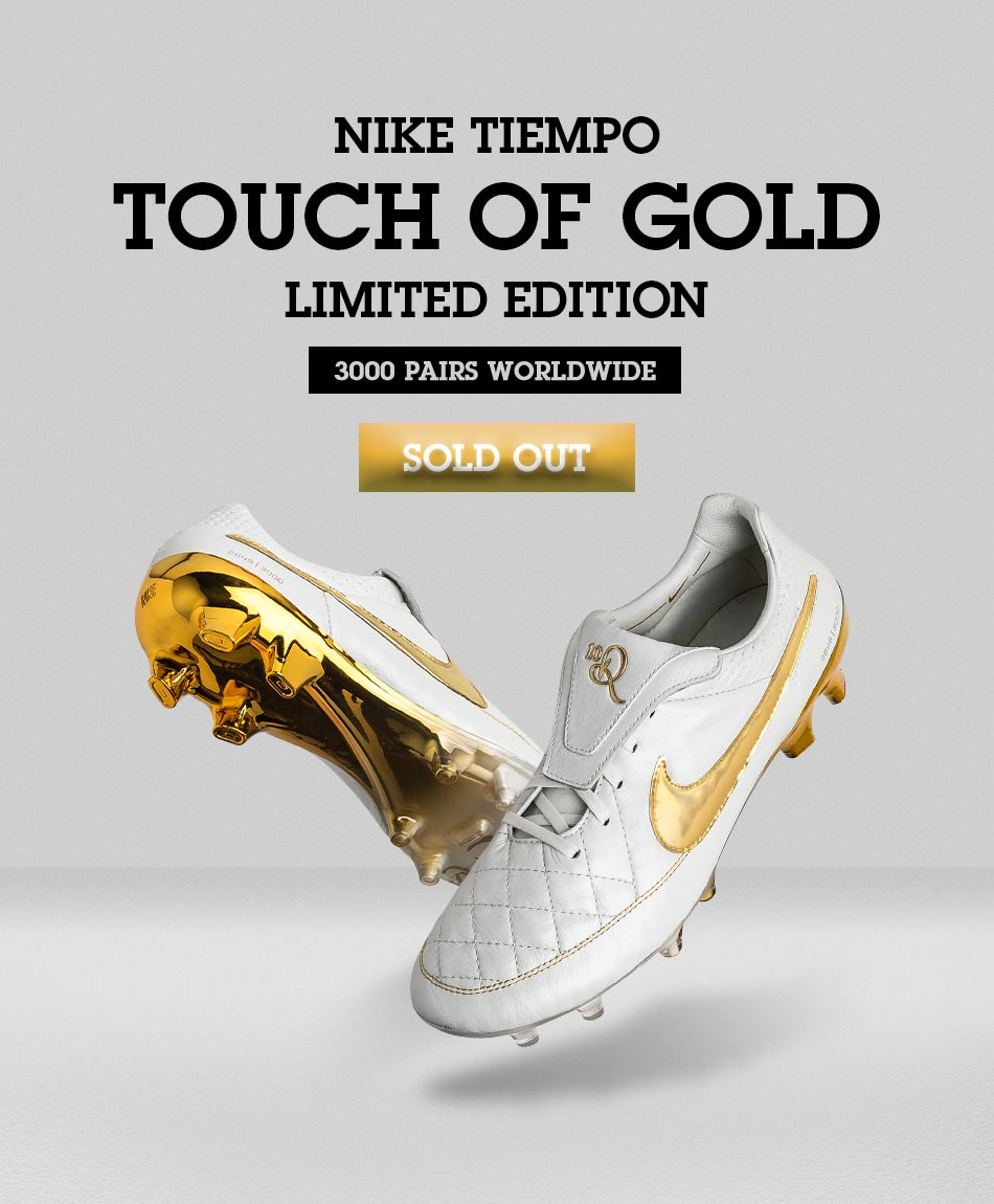 pick up 8f982 97db9 Nike Tiempo Ronaldinho Touch Of Gold