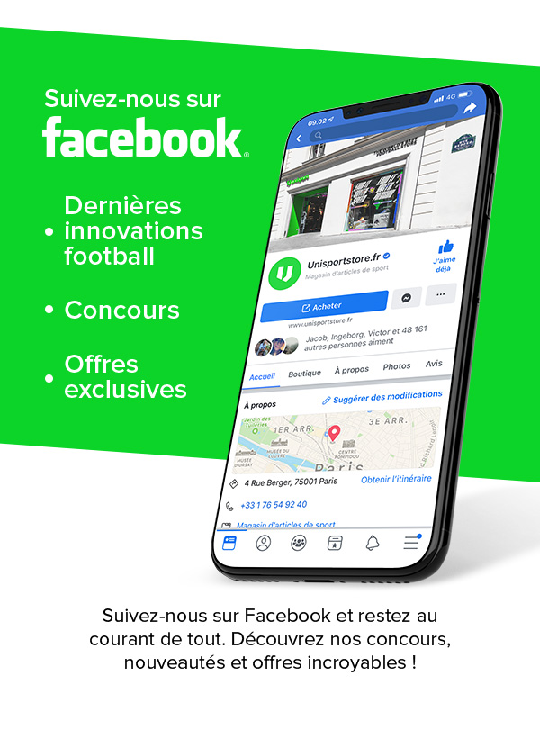 Suivez-nous sur Facebook.