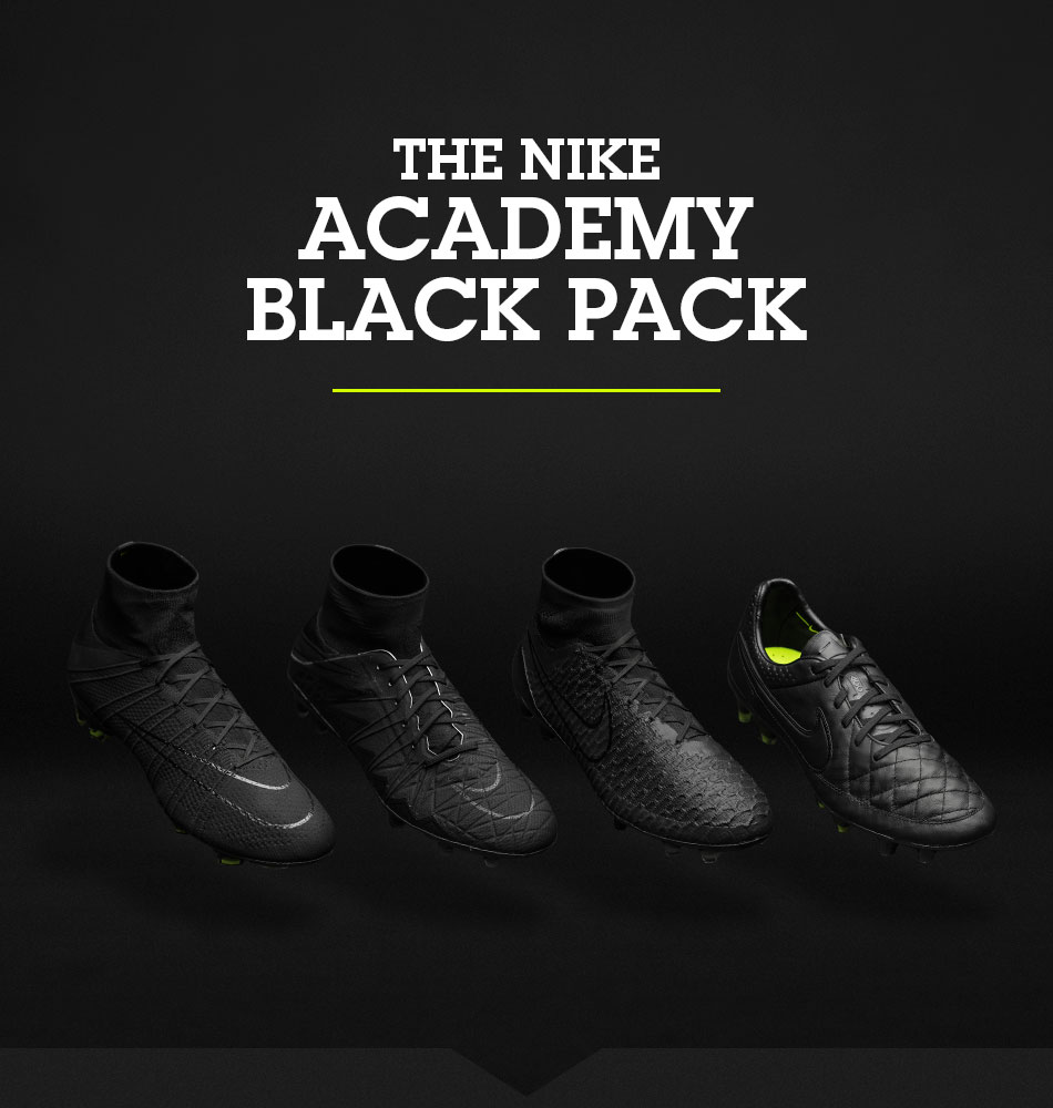 The Nike Academy Pack is back! Young players have to earn their ... eea929cef